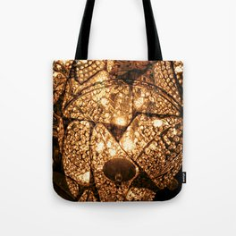 Golden Chandeliere by Lika Ramati Tote Bag