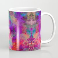 rorschach Mugs featuring Rorschach  by Marta Olga Klara