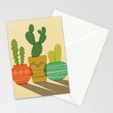Cactus Trio Stationery Cards