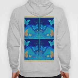Classy Butterfly Origami Window Print Hoody