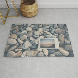 an instant sunset ... Rug