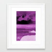 doom Framed Art Prints featuring doom by DormarvDemand