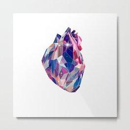 Stellar heart Metal Print
