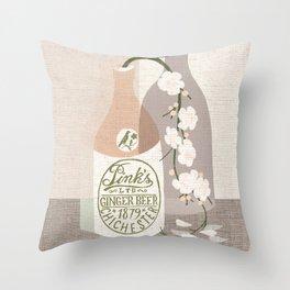 douce fleur Throw Pillow