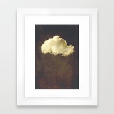 Im a cloud stealer Framed Art Print