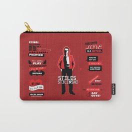Stiles Stilinski Quotes Teen Wolf Carry-All Pouch