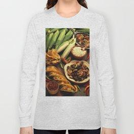 Mexican Food Long Sleeve T-shirt