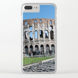 Colosseum Clear iPhone Case