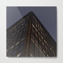 Building point Metal Print