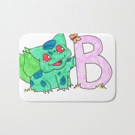 B is for Bulb A Saur Bath Mat