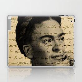 Letter Frida Kahlo Laptop & iPad Skin