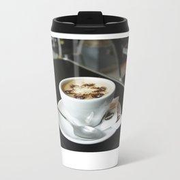 Cafe con leche Metal Travel Mug