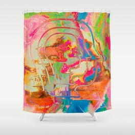 Feel the Rainbow Shower Curtain