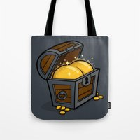 booty Tote Bags featuring Booty by Santo76