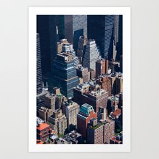 New York City - Manhattan #1 Art Print