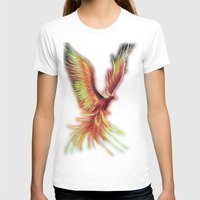 phoenix T-shirts featuring phoenix by OLHADARCHUK