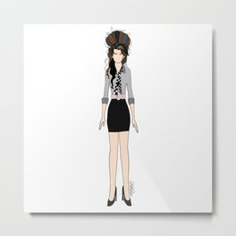 Amy Rehab Outfit 1 Metal Print