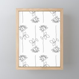 Thorns Framed Mini Art Print
