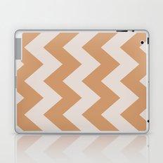 Caramel Delight Chevron Laptop & iPad Skin