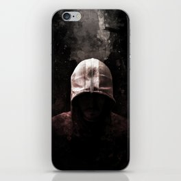 Modern Assassin Hood - Color iPhone Skin