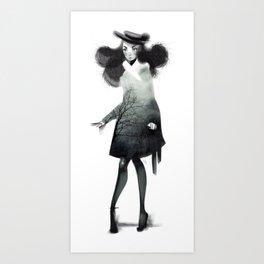 Fashion Doodle Art Print