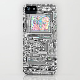 Peaking Through iPhone Case