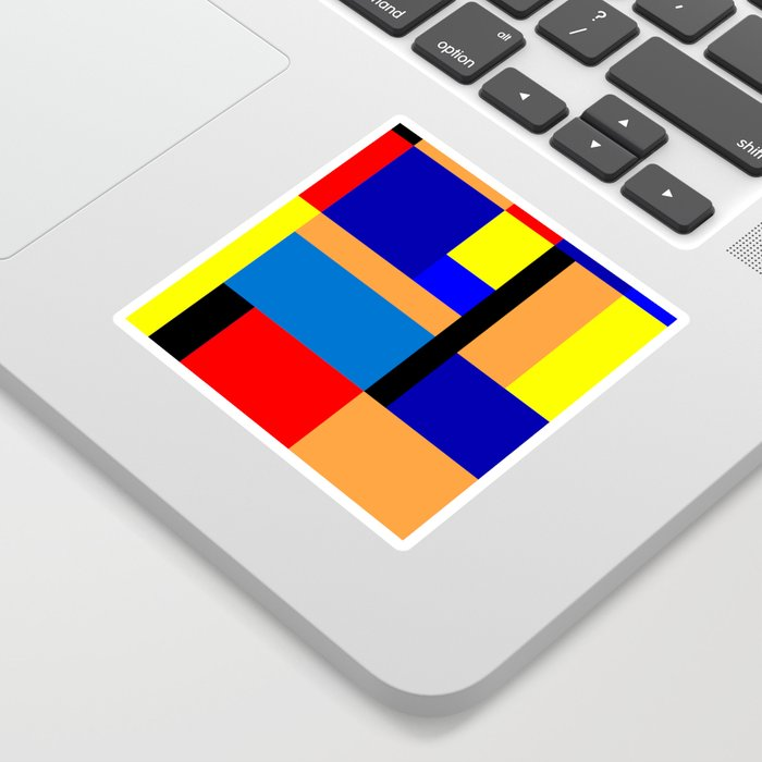 Mondrian #35 Sticker