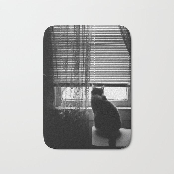 Window cat Bath Mat