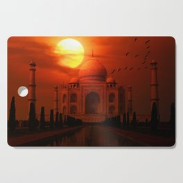 Taj Mahal Sunset Cutting Board