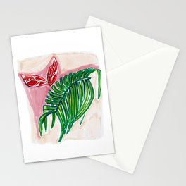 Weird Plants: Green Stationery Cards