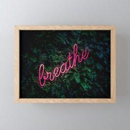 Breathe Framed Mini Art Print