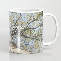 climbing Mugs featuring KEEP CLIMBING by Aonair Designs