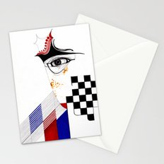 CHECKERS EYE Stationery Cards