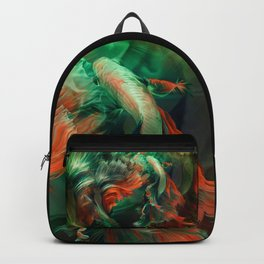 """Betta splendens Deep water (Siam fighter)"" Backpack"