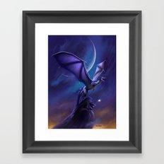 Dragon's Flight Framed Art Print