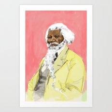 Frodrick Douglas Art Print
