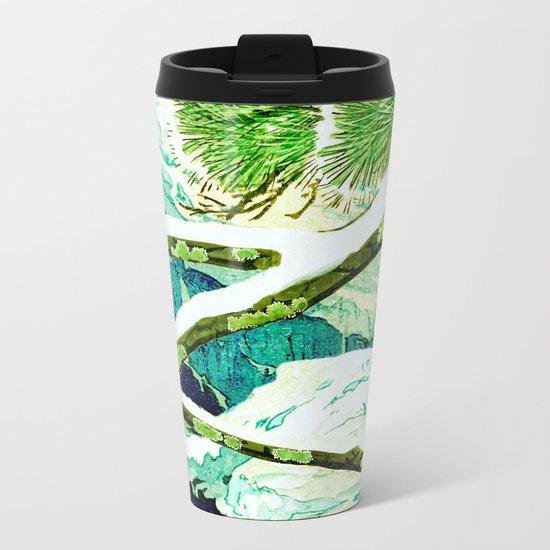 The Winter Green Metal Travel Mug