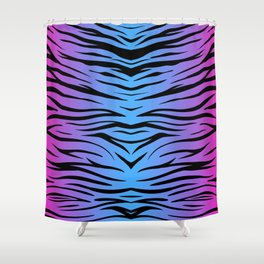 Magic Zebra Shower Curtain