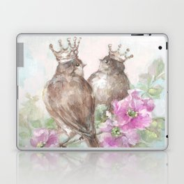 French Crown Songbirds II Laptop & iPad Skin
