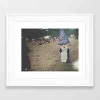 wizard Framed Art Prints featuring Wizard by Gabrielle Wall