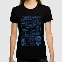 Fairhaven Massachusetts Print T-shirt