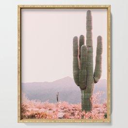 Vintage Cactus Serving Tray