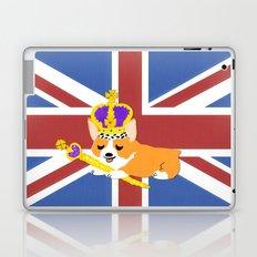 Crown Corgi Laptop & iPad Skin