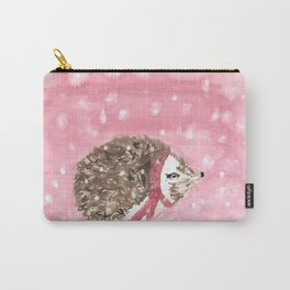 Snowy Hedgie Carry-All Pouch