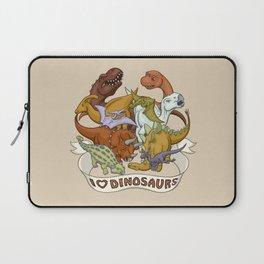 I Heart Dinosaurs Laptop Sleeve