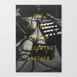 Furious Chorus Canvas Print