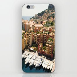 Monte Carlo Yacht's And City iPhone Skin