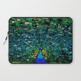 :: Peacock Caper :: Laptop Sleeve