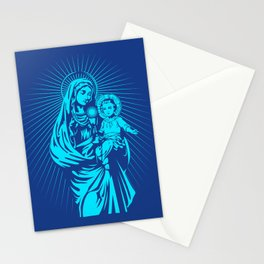 mary mother of god  Stationery Cards