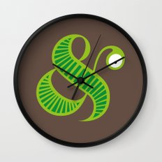 Et worm Wall Clock
